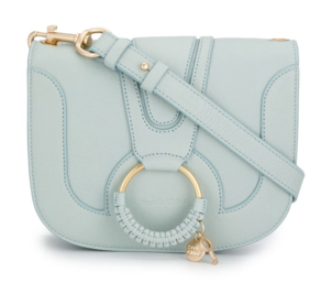 See by Chloé Blue Leather Crossbody Bags