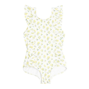 Minnow Girl's Lemon Drop Ruffle One Piece Kids
