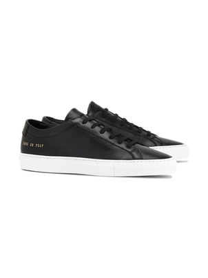 Common Projects Black Achilles Low Sneakers Shoes