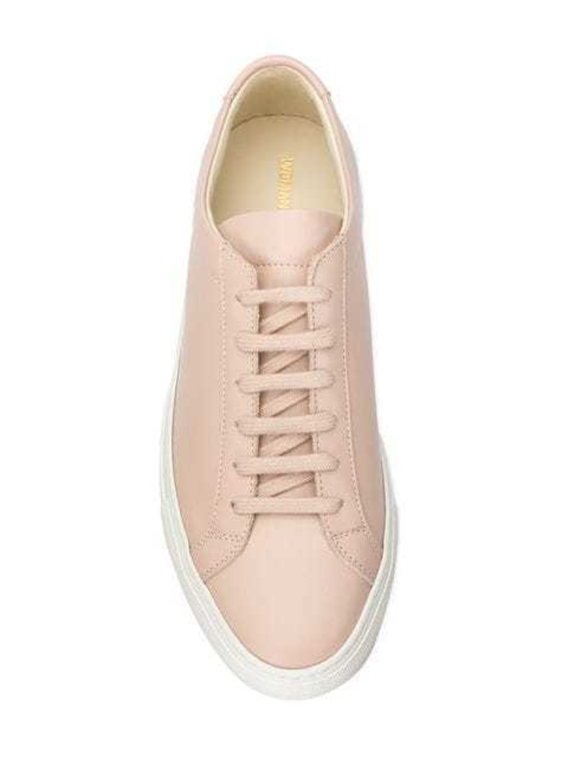 Common Projects Pink Achilles Sneakers Shoes
