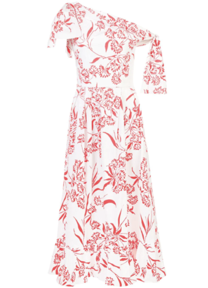 Carolina Herrera Floral Dress Dresses