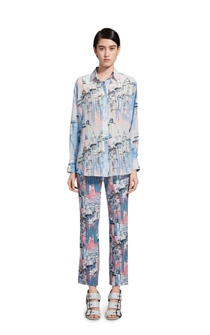Sies Marjan City Print Top Tops
