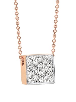 Ginette NY Ginette NY Baby Diamond Ever Square Necklace Jewelry
