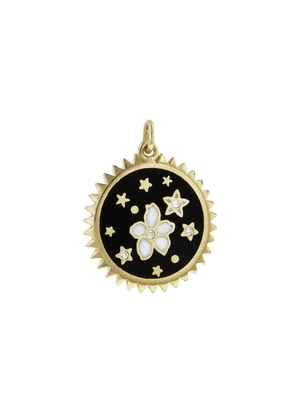 Foundrae Foundrae Dark Blossoms Resilience Charm - Yellow Gold Jewelry