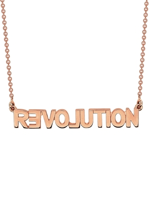 Ginette NY Ginette NY Fairy Revolution Necklace - Rose Gold Jewelry