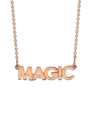 Ginette NY Ginette NY Fairy Magic Necklace - Rose Gold Jewelry