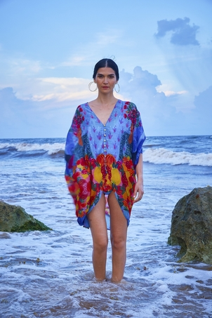 Carolina K Sarita Kaftan Swimwear