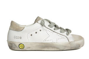 Golden Goose Deluxe Brand Sneakers Superstar - White Skate Kids