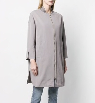 Herno Bomber Trench Coat Outerwear