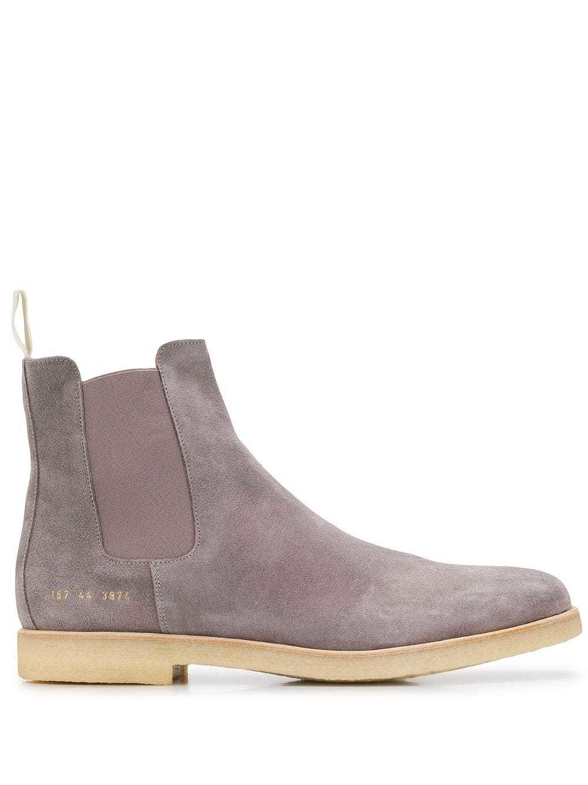 Common Projects SUEDE CHELSEA BOOTS Men's
