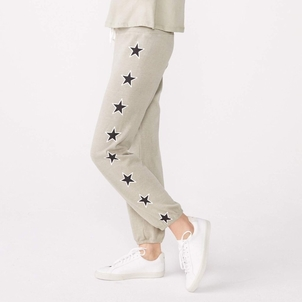 MONROW Star Print Vintage Sweats Pants