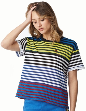 Repica Los Angeles Boyfriend Tee - Cool Stripe Sale Tops