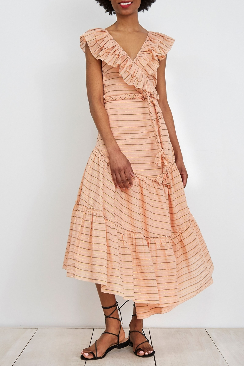 Apiece Apart Nueva Costa Maxi Dress Blush Dresses Sale