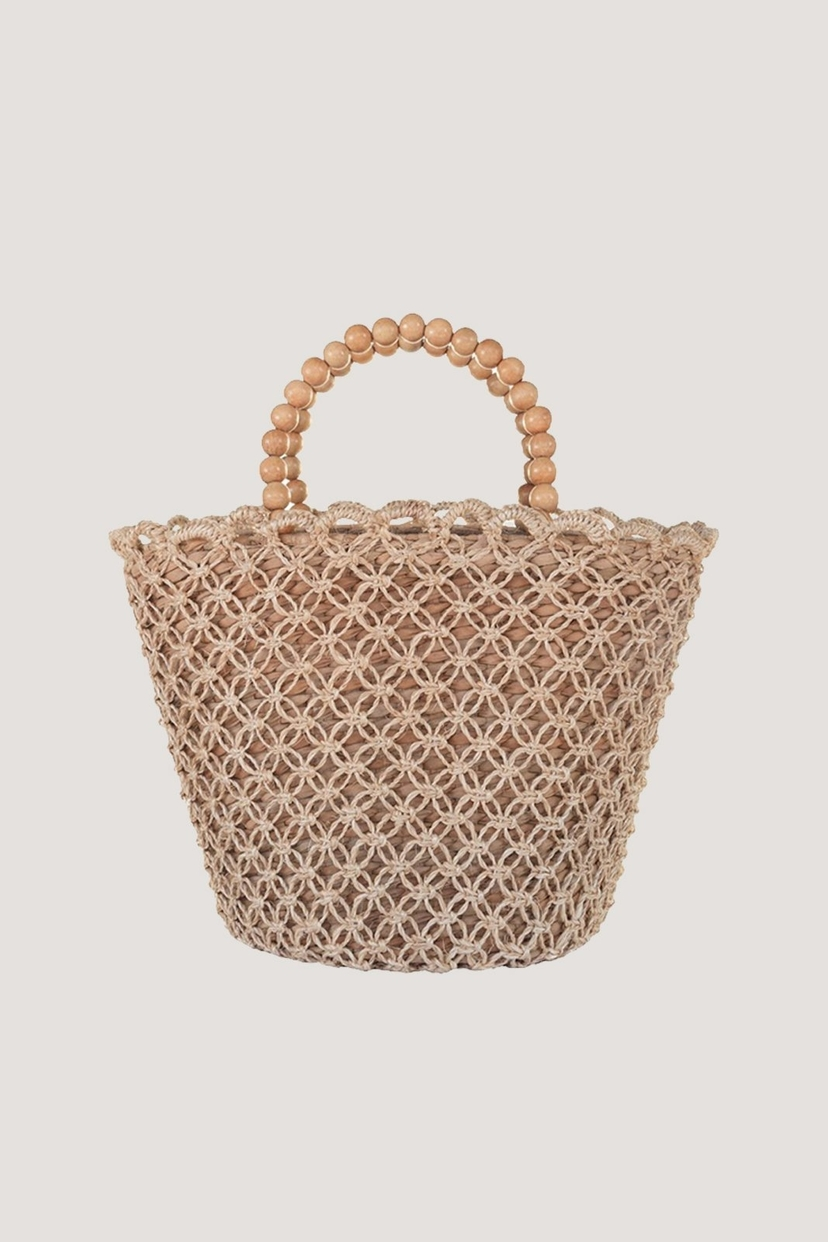 Kayu Poppy Seagrass Tote Bags Sale
