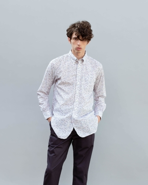 Engineered Garments 19TH CENTURY BEACH PRINT SHIRT Men's