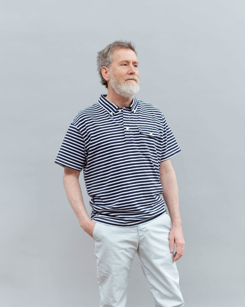 Engineered Garments KNIT POLO Men's Sale