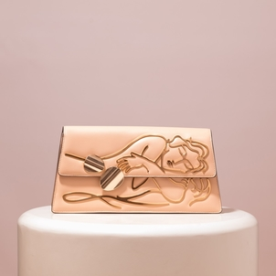 Benedetta Bruzziches Dalidà Sleeping Beauty Nude Leather Accessories Bags