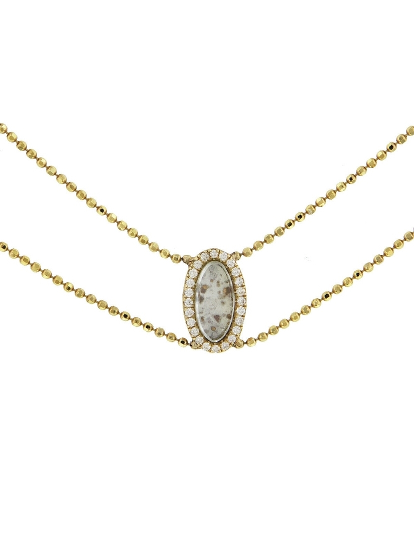 Darśana Darśana Sophie Collar Necklace - Yellow Gold Jewelry
