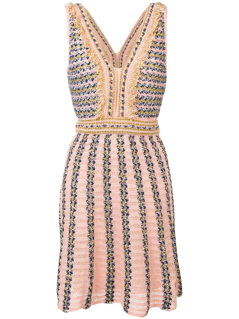 M Missoni Intarsia Knit Dress Dresses