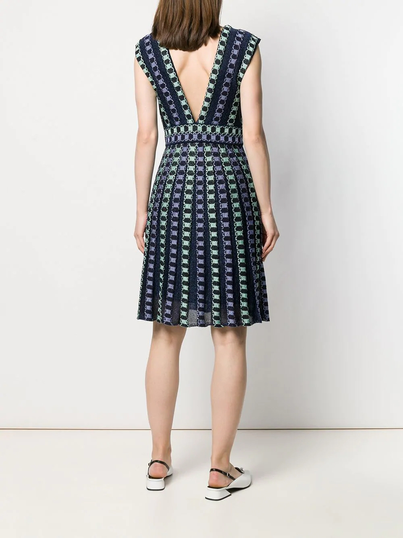 M Missoni V-Neck Dress Dresses