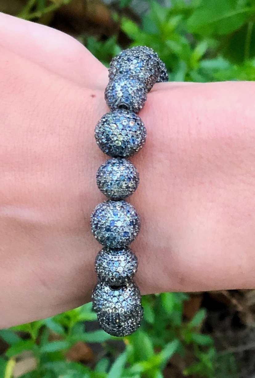 The Woods Fine Jewelry Sapphire Stretch Bracelet Jewelry