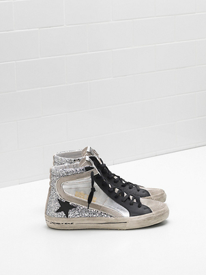 Golden Goose Deluxe Brand Spring Golden Goose 'Slide' Hi-top Shoes