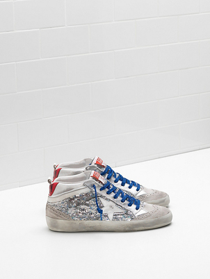 Golden Goose Deluxe Brand Mid Star Sneakers with all-over sequins Shoes