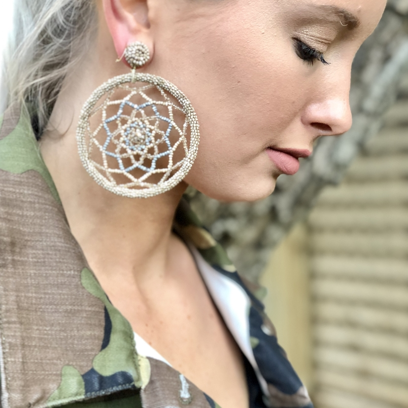Raegan Dreamcatcher Earrings Jewelry