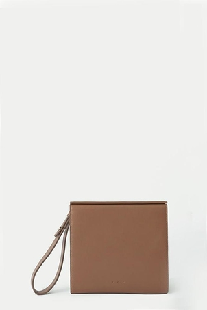Aesther Ekme Brown Pouch Clutch Bags