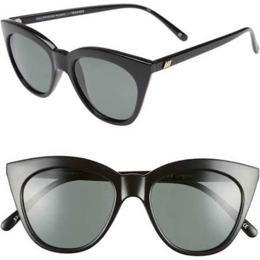 Le Specs Half Moon Magic sunglasses in Black Accessories