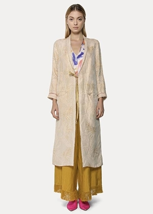 Forte Forte Forte Forte Agave Lurex Jacquard Dustcoat Outerwear