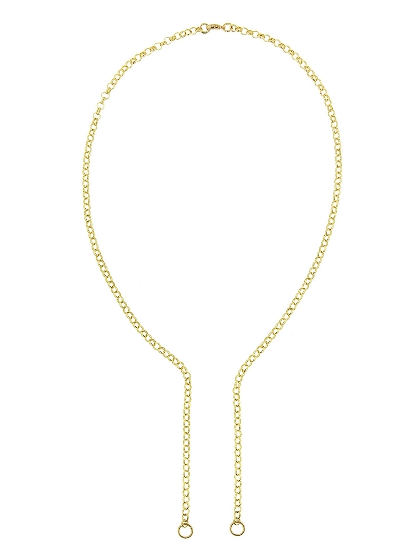 Foundrae Foundrae Open Medium Belcher Chain Necklace Jewelry