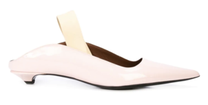 Proenza Schouler Pink Leather Mules Sale Shoes