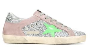 Golden Goose Deluxe Brand All Over Glitter Superstar Sneaker Shoes