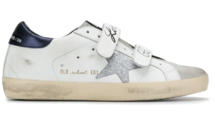 Golden Goose Deluxe Brand Old School Velcro Sneakers Shoes