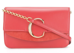 Chloé Red Leather Crossbody Bags