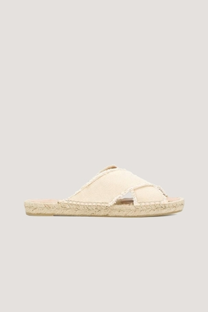 Castaner Palmera Ivory Wedge Espadrilles Shoes