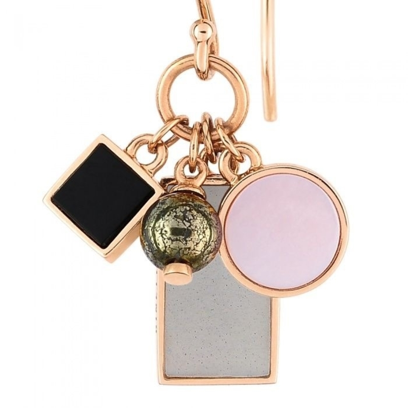 Ginette NY Ever Frost Charm Earrings Jewelry