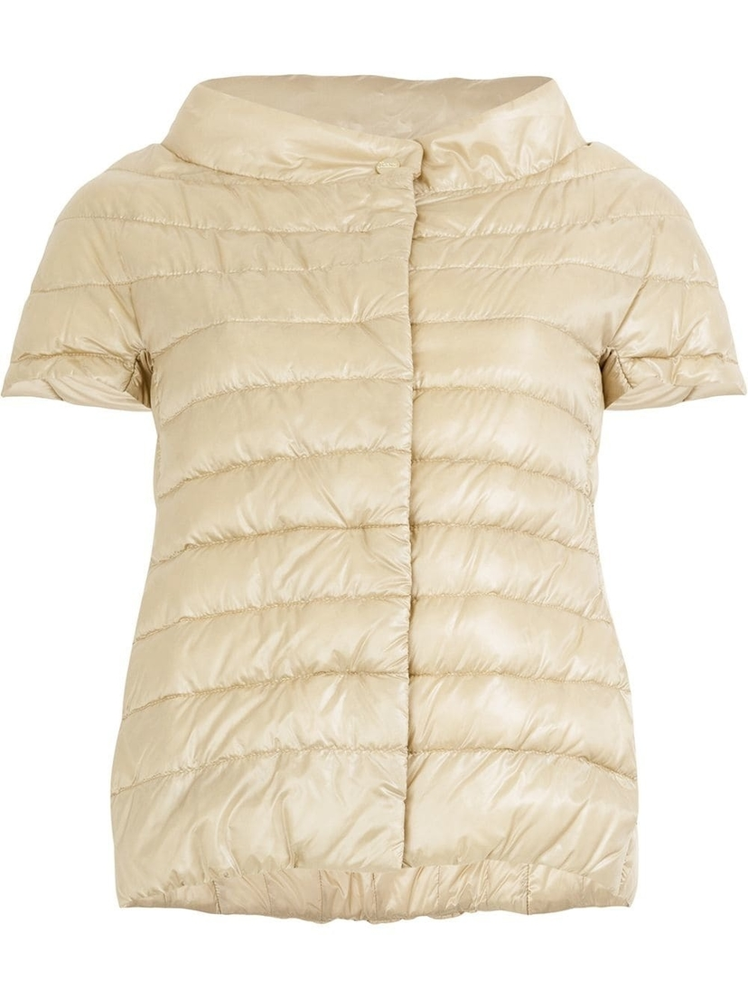 Herno Cap Sleeved Puffer Vest Outerwear