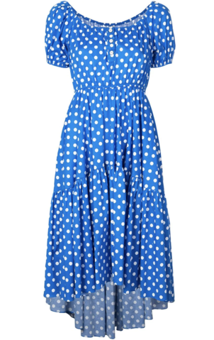 Caroline Constas Polka Dotted Dress Dresses Sale
