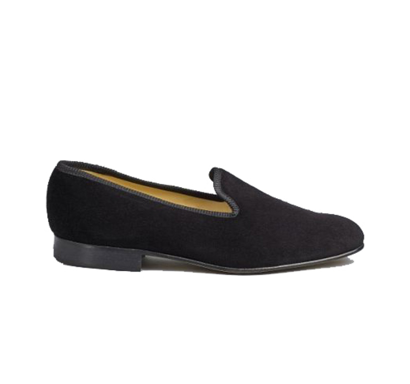 Tricker's VELVET TUX SLIPPER Men's