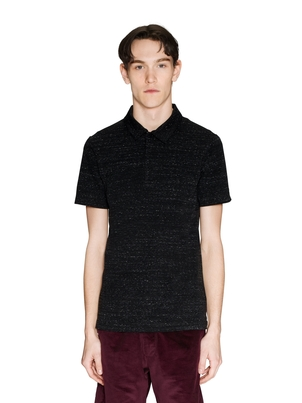 Wings + Horns Knit Jersey Signals Polo Tops