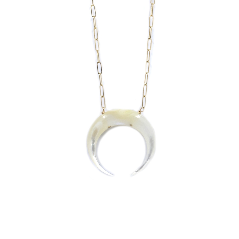 Bent by Courtney Harlow | Mother of Pearl Jewelry