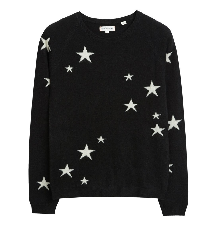 Chinti and Parker Star Sweater Tops