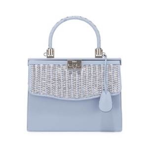Rodo Paris Woven Leather Top-Handle Bag Bags