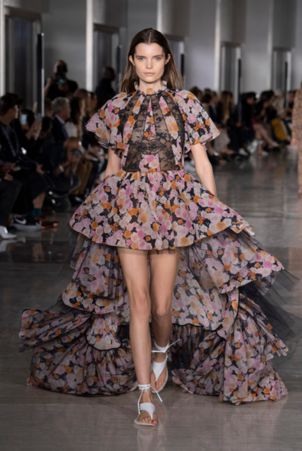 Giambattista Valli Black Rose Dress Dresses