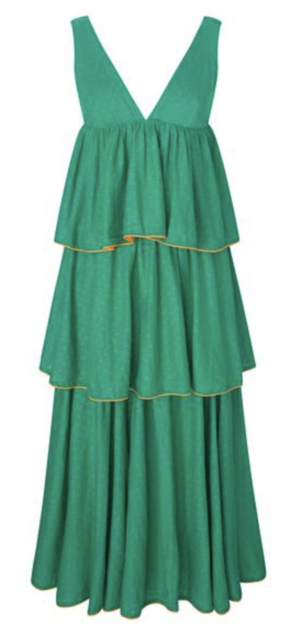 Rhode Resort Leela Green Dress Dresses