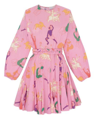 Rhode Resort Multicolored Pink Ella Dress Dresses