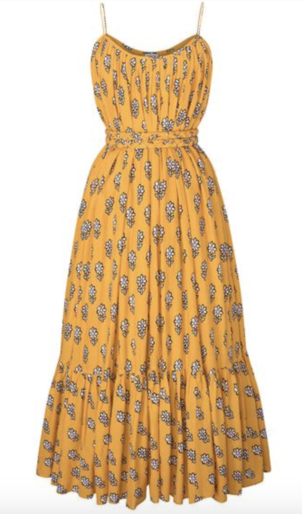 Rhode Resort Lea Dress in Yellow Floral Dresses