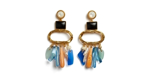 Lizzie Fortunato Beachcomber Earrings Jewelry